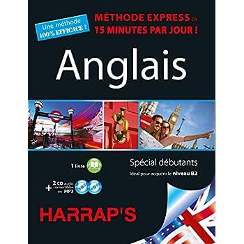 Harrap's méthode Express Anglais 2CD+livre