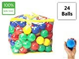 #10: IKids Color Balls set of 24 Balls - 8cm Quality Color Balls