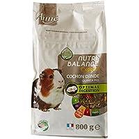 AIME Aliment complet Cochon d'inde, NUTRI'BALANCE EXPERT Repas Premium varié vitamine C et digestion optimale, 800G
