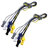 OTOTEC Lacets élastiques réfléchissants sans nœud élastique pour Chaussures Confort Ultime et Pratique pour Adultes