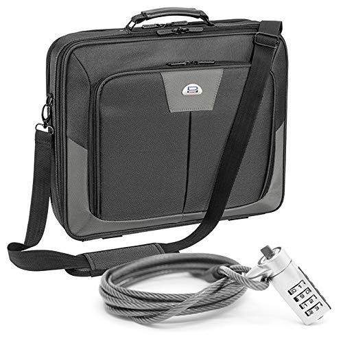 Pedea Premium Notebooktasche bis 43,9 cm (17,3 Zoll) mit Notebookschloss, grau