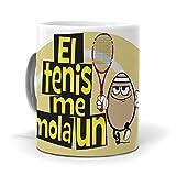 mundohuevo TazaEl tenis me mola un huevo