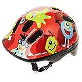Casco de seguridad pequeño de bicicleta, para niños, color Monsters, tamaño 48-52 cm