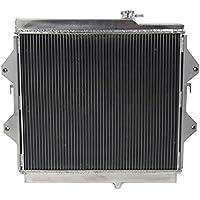 Radiador de aluminio GOWE 3 fila Core para Toyota Hilux 97 – 05 rzn149 rzn174 2.7