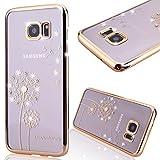 GrandEver Diamant Hart Handyhülle für Samsung Galaxy S7