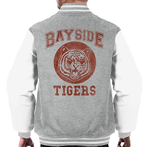 Cloud City 7 Saved by The Bell Inspired Bayside Tigers Men's Varsity Jacket -