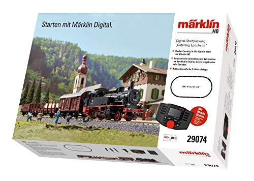 """51JPW05cxhL - Märklin 29074 - Digital-Startpackung """"Güterzug Epoche III"""". 230 Volt. Spur H0"""