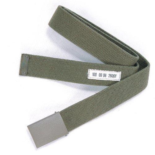 Mil-Tec BW Hosengürtel Textil oliv nach TL Gr.100