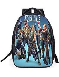 Fortnite Unisex Mochila Escolar para Niño y Niña Moda Mochilas Backpack Rucksack de Viaje Adolescentes Daypack