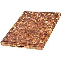 Teakhaus th333-Tagliere in legno, dimensioni: 61 x 46 x 3,8