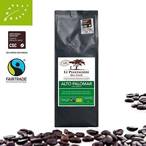 Café Orgánico En Grano 100% Arábica | Origen único | Fairtrade |de Peru | (500g)