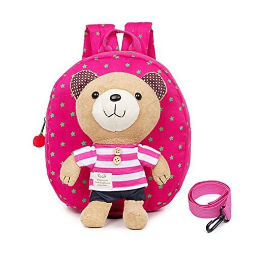 Toddler easter gift amazon echofun toddler safety harness children backpack toddler school bag rucksack children shoulder bag with detachable soft toy reins negle Gallery