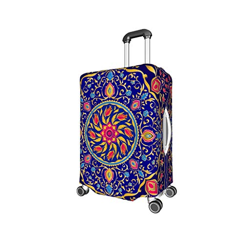 O3XEQ-8 Bisque Mandala Reise Koffer Protector - trendy Luggage Cover 4 Größen Anzug schützend Koffer white7 XL (29-32 inch)