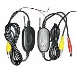 Zantec Wireless Funk Transmitter für Auto KFZ Rückfahrkamera Sender Empfänger 2,4GHz
