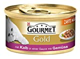 Gourmet Gold - Katzenfutter mit Kalb - 85g