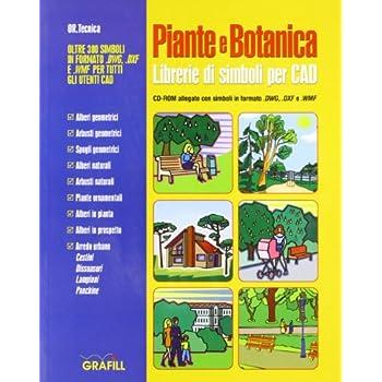 Piante E Botanica. Librerie Di Simboli Per Cad