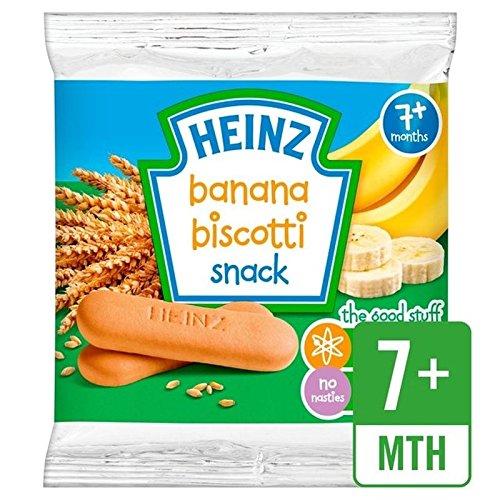 Heinz Banane Biscotti 7 Mths + 60g -