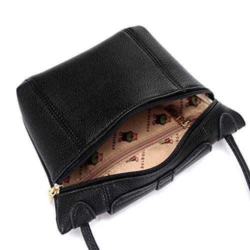 Pacchetto semplice signora Joker/Studente mini Messenger borsa vintage-D A