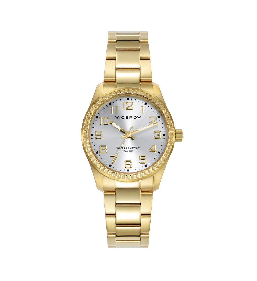 VICEROY – Reloj Acero IP Dorado Brazalete Sra Viceroy – 40860-27