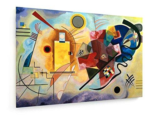 Wassily Kandinsky - Giallo - Rosso - Blu - 90x60 cm - weewado - Belle stampe d