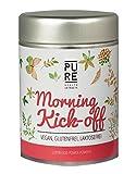 Superfood Mix Morning Kick Off von Pure Health Extracts | Acai Pulver, Guarana Pulver & Ginkgo Superfood Pulver für den Smoothie | Mit Bio Matcha Tee