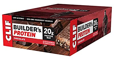 Clif Bar Builders Protein Bar Chocolate Flavour 20 g Protein 68 g by Clif Bar
