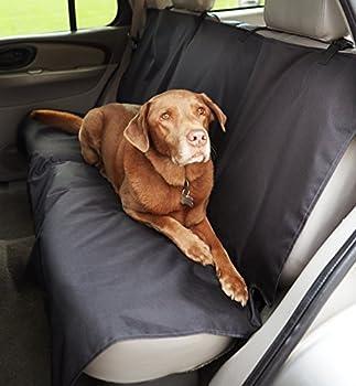AmazonBasics Housse de protection de banquette arrière de type banc pour animaux domestiques
