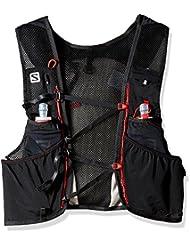 Salomon Adv Skin 5 Set Black/Matador Rucksäcke und Taschen
