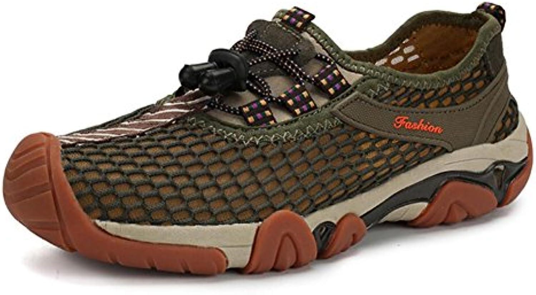New Zapatos de Senderismo de los Hombres 2018 Nuevos Zapatos de Malla de Verano para Hombre Zapatillas de Deporte...