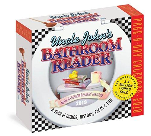Uncle John's Bathroom Reader Page-A-Day Calendar 2018