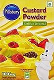 Pillsbury Custard Powder, Vanilla, 100g ( Pack of 4 )