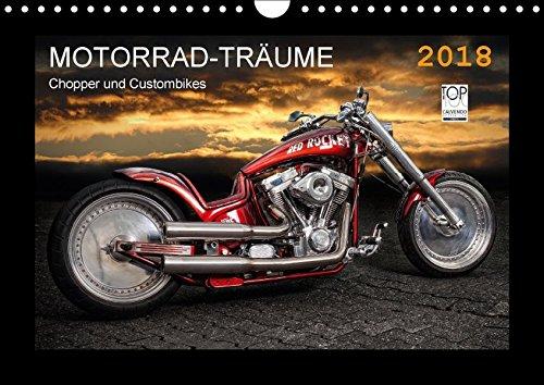 Motorrad-Träume - Chopper und Custombikes (Wandkalender 2018 DIN A4 quer): Harley-Davidson und außergewöhnliche Custombikes (Monatskalender, 14 Seiten ... [Kalender] [Apr 01, 2017] Pohl, Michael