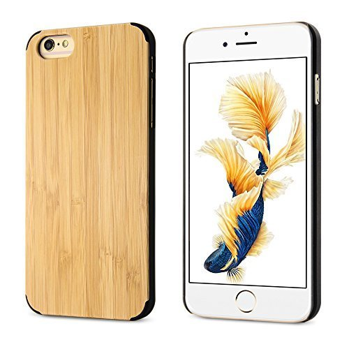 "BELK Apple iPhone 6 / 6S Case - ARTISAN MASTERWORK [carapace dure Series] Natural ""Plank"" Bamboo Slim Case-forme dur Bouclier de Couverture pour Apple iPhone 6 & iPhone 6S (4.7 "") PC + Bamboo"