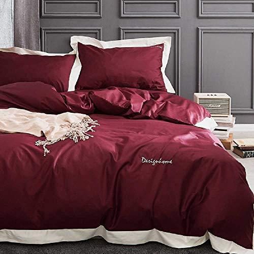 CHINCI GUO 140 filialen ALS Pima im high - end - Vier Stück Baumwolle Baumwolle Baumwolle MIT Satin - bettwäsche Betten Rot - Design-bettwäsche-bettdecken Echo