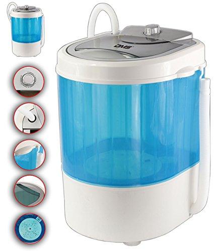DMS® Campingwaschmaschine mit Schleuder 3,5 Kg Mini Waschmaschine Wäscheschleuder CWM-260B