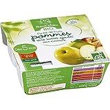 bout'chou Purée de fruits bio Pommes sans sucres ajoutés ( Prix unitaire ) - Envoi Rapide Et Soignée