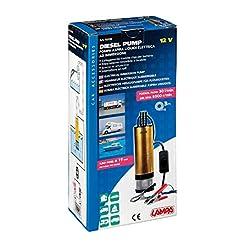 Lampa 72158 Pompa Elettrica 12V Aspira Liquidi, 30L/Min