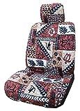Made in Hawaii, Hawaiianische Original Tapa Design in Braun Separate Kopfstütze Auto Sitzbezüge von Winnie Fashion