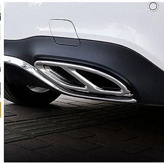 AMG Rohr Schwanz Throat Auto Zubehör AMG Auspuff Abdeckung Ausgänge Schwanz Rahmen Rand