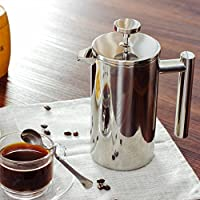 ELECTROPRIME 500ml Stainless Coffee Maker Cafetiere French Filter Coffee Press Plunger