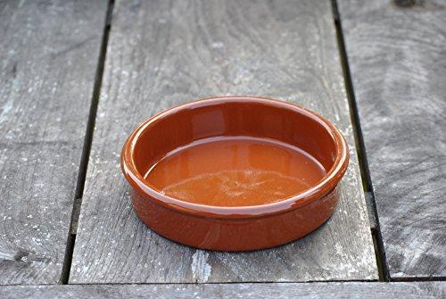 Auflaufform,Keramik,feuerfest,Spanien,9cm,6Stück,B-Sortierung mit kleinen Fehlern