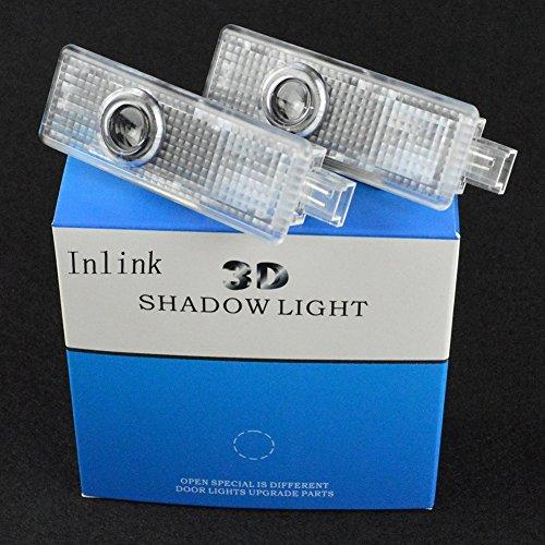 Inlink 2 Stück Autotür Logo Projektion Licht Türbeleuchtung Projektor - 8