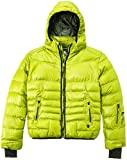 Peak Mountain Galpine/yl Doudoune Fille Anis FR : 14 ans (Taille Fabricant : 14)