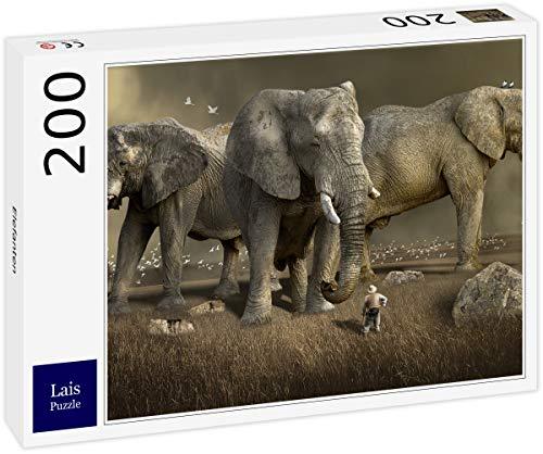 Lais Puzzle Elefantes 200 Piezas