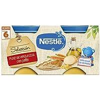 Nestlé Naturnes - Selección Puré De Verduritas con Pollo - A partir de 6 meses - 2 x 200 g