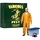 Mezco - Breaking Bad figurine Deluxe Jesse Pinkman in Orange Hazmat Suit heo E