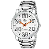 #10: Casual Analog White Dial Men's Watch - (LS2711)