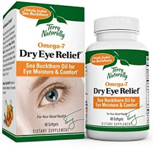 Omega7 Eye Relief EuroPharma (Terry Naturally) 60 Softgel -