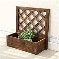 Flower stand Style Flower Pot Unique Plant Hanger With Wooden Frame Single-Layer Hanging Basket Without Flower Pot