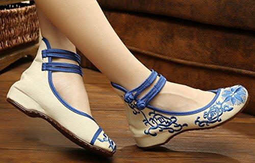 ICEGREY , Mary Janes pour femme Bleu